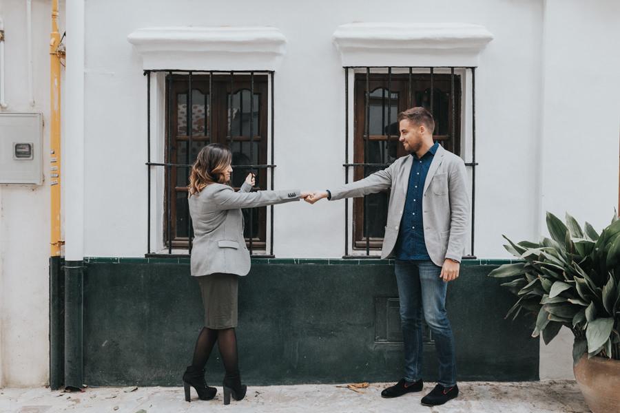 pedida de mano romantica en Sevilla