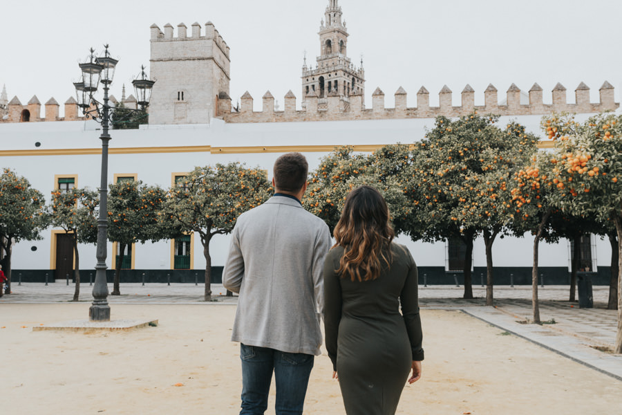 sesion de fotos de pareja en sevilla
