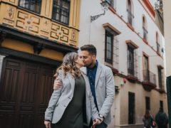 Sesión de fotos en pareja en Sevilla   Ismael y Eli