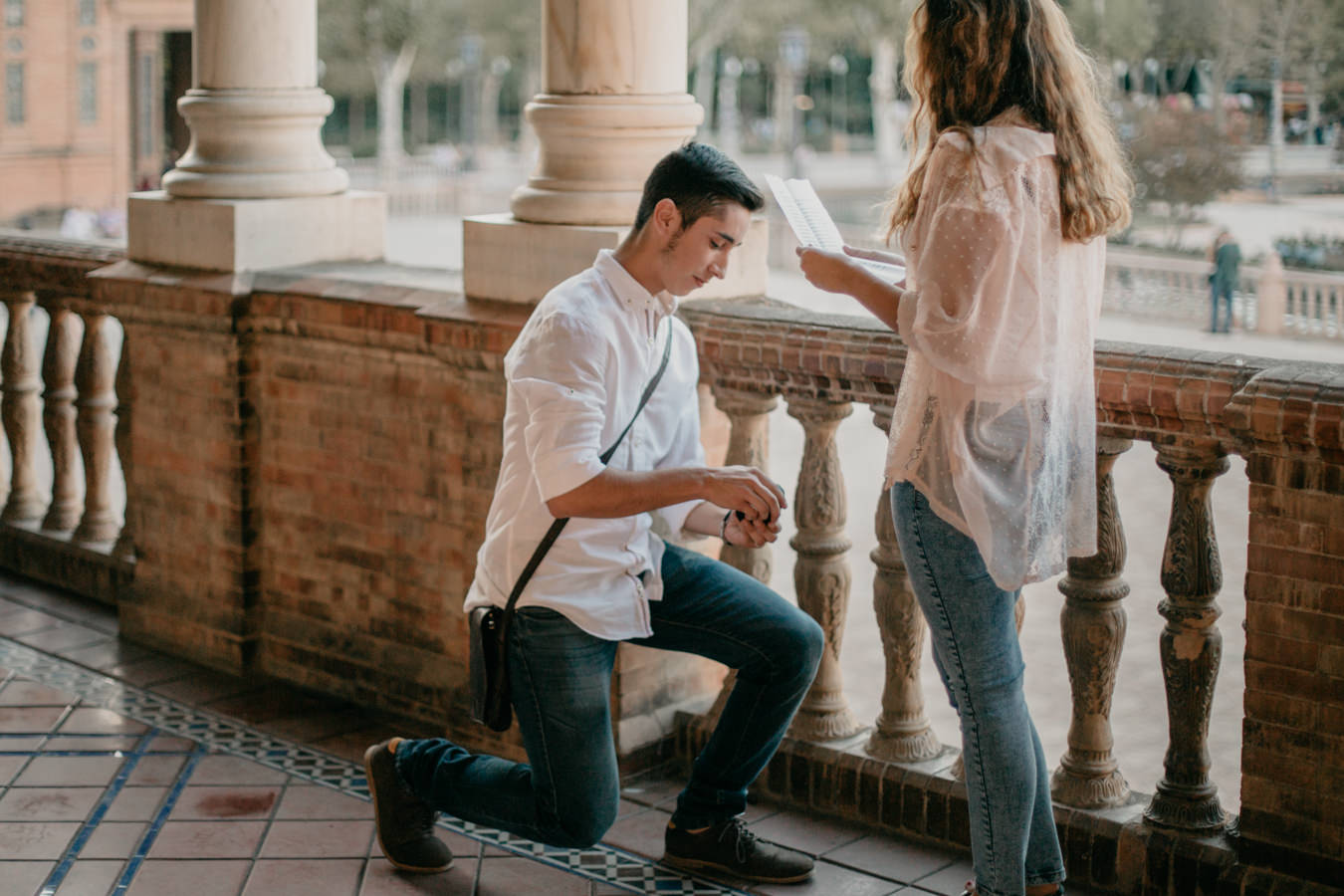 marriage proposal in sevilla