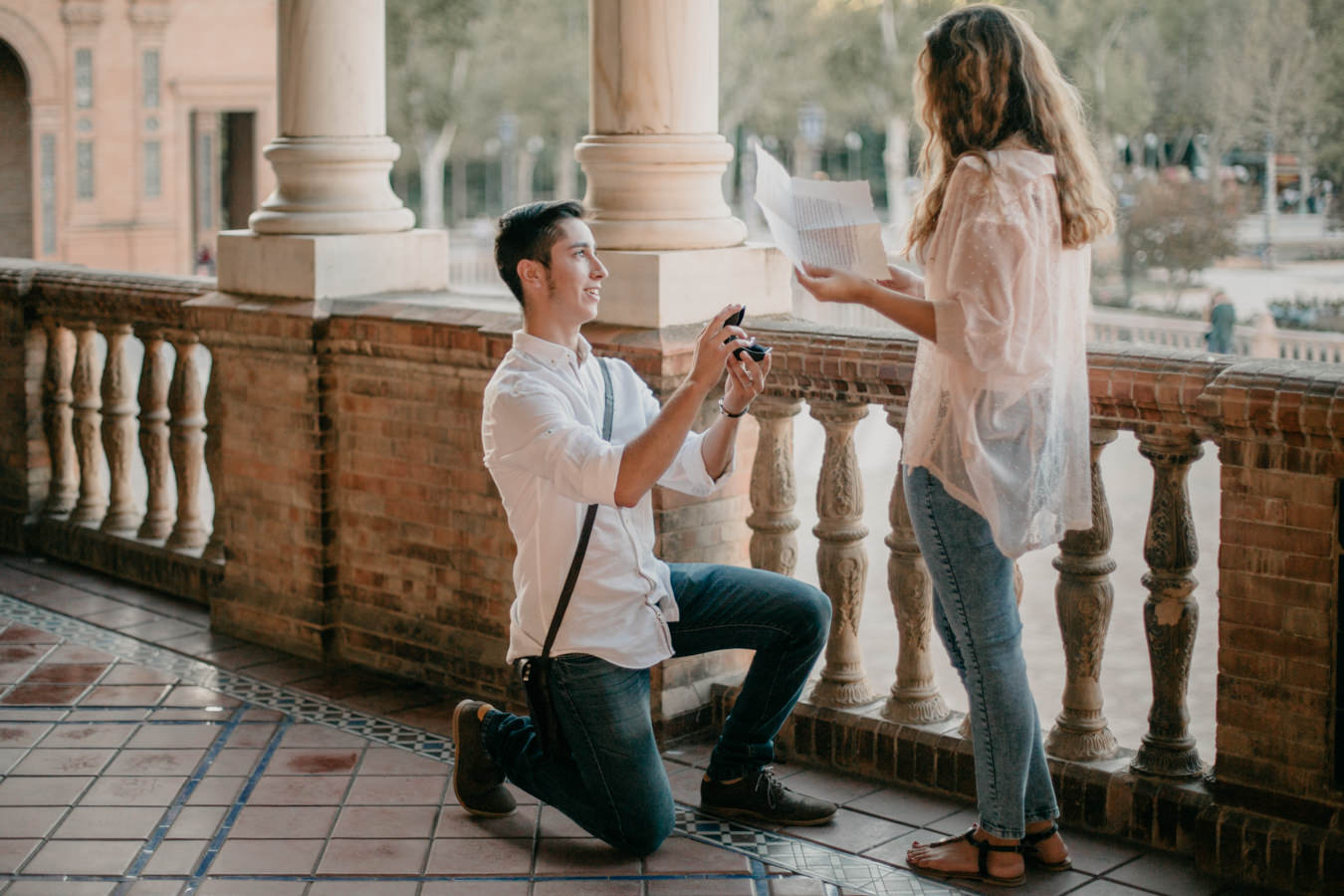 proposal in sevilla