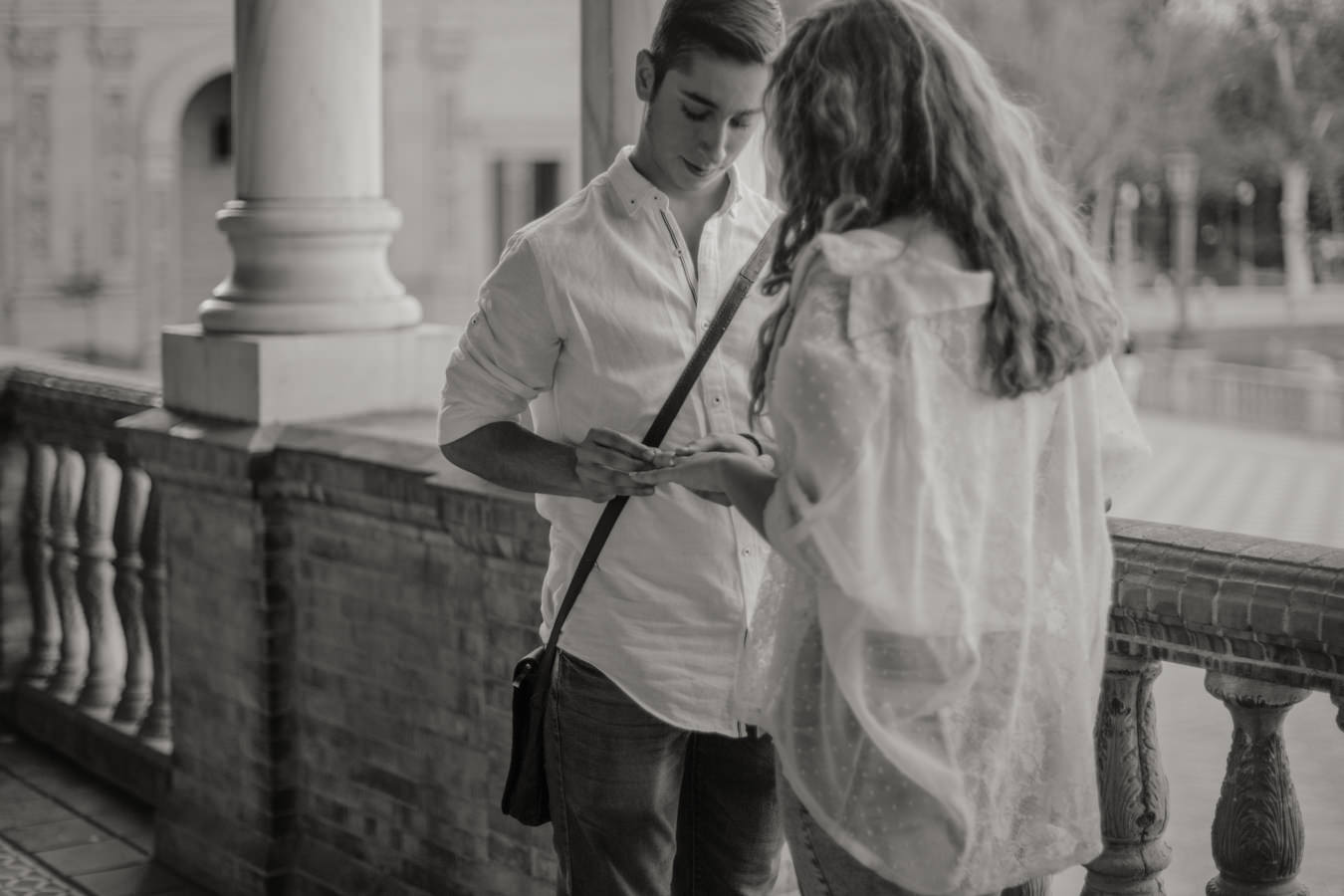 dónde pedir la mano en sevilla? Plaza de España, Sevilla
