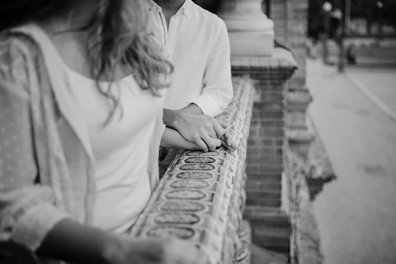 romantica pedida de mano en sevilla