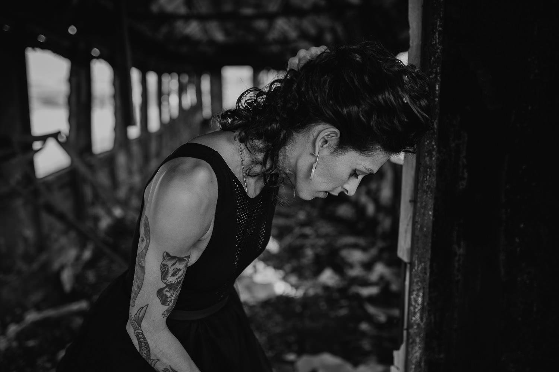 Fotografia de moda en blanco y negro